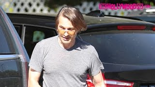 Olivier Martinez Takes His & Halle Berry's Kid Grocery Shopping At Bristol Farms In Beverly Hills