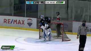 HIGHLIGHTS: Penticton Vees @ Salmon Arm Silverbacks – October 24th, 2020