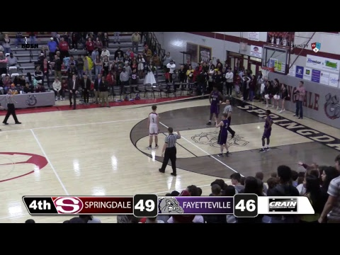 Springdale High School Basketball | Fayetteville @ Springdale
