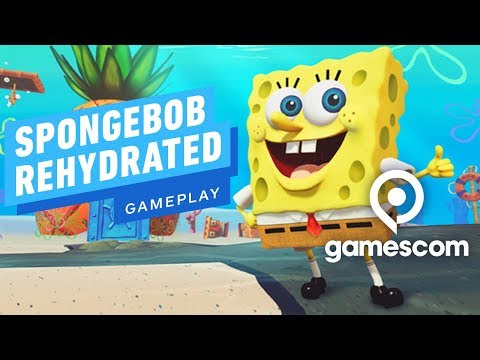 Gameplay de SpongeBob SquarePants: Battle for Bikini Bottom - Rehydrated