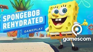 12 Minutes of SpongeBob SquarePants: Battle for Bikini Bottom Rehydrated Gameplay - Gamescom 2019