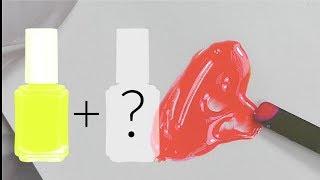 """Как смешать гель-лак """"Живой Коралл"""" Цвет 2019 года от института Pantone"""