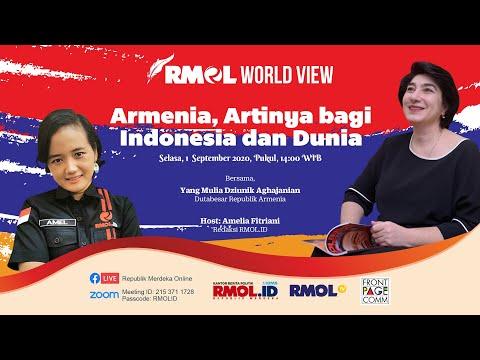RMOL World View - Armenia, Artinya bagi Indonesia dan Dunia