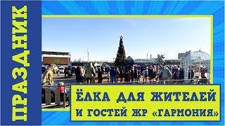 """Праздничный хоровод в жилом районе """"Гармония""""   Новый год 2019-2020"""
