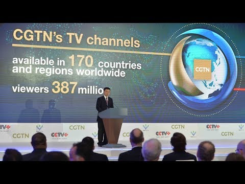 CGTN Controller raising up the future of media industry in China