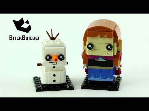 Vidéo LEGO BrickHeadz 41618 : Anna & Olaf (La Reine des Neiges)