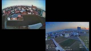 20306夕練28_WALKERA RODEO 110 & iFlight MegaBee V2 AcroFPV Flight