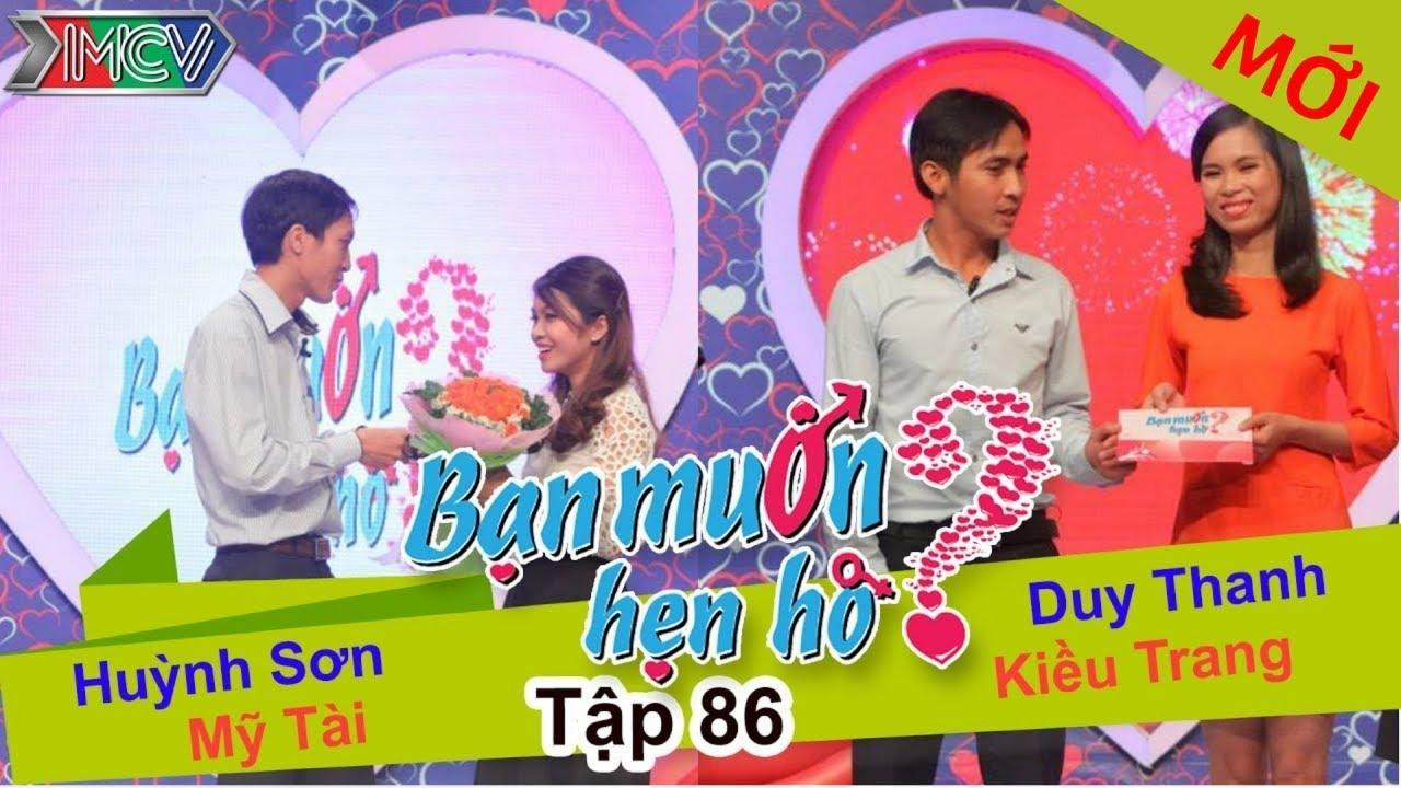 BẠN MUỐN HẸN HÒ #86 UNCUT | Huỳnh Sơn - Mỹ Tài | Duy Thanh - Kiều Trang | 280615 💖