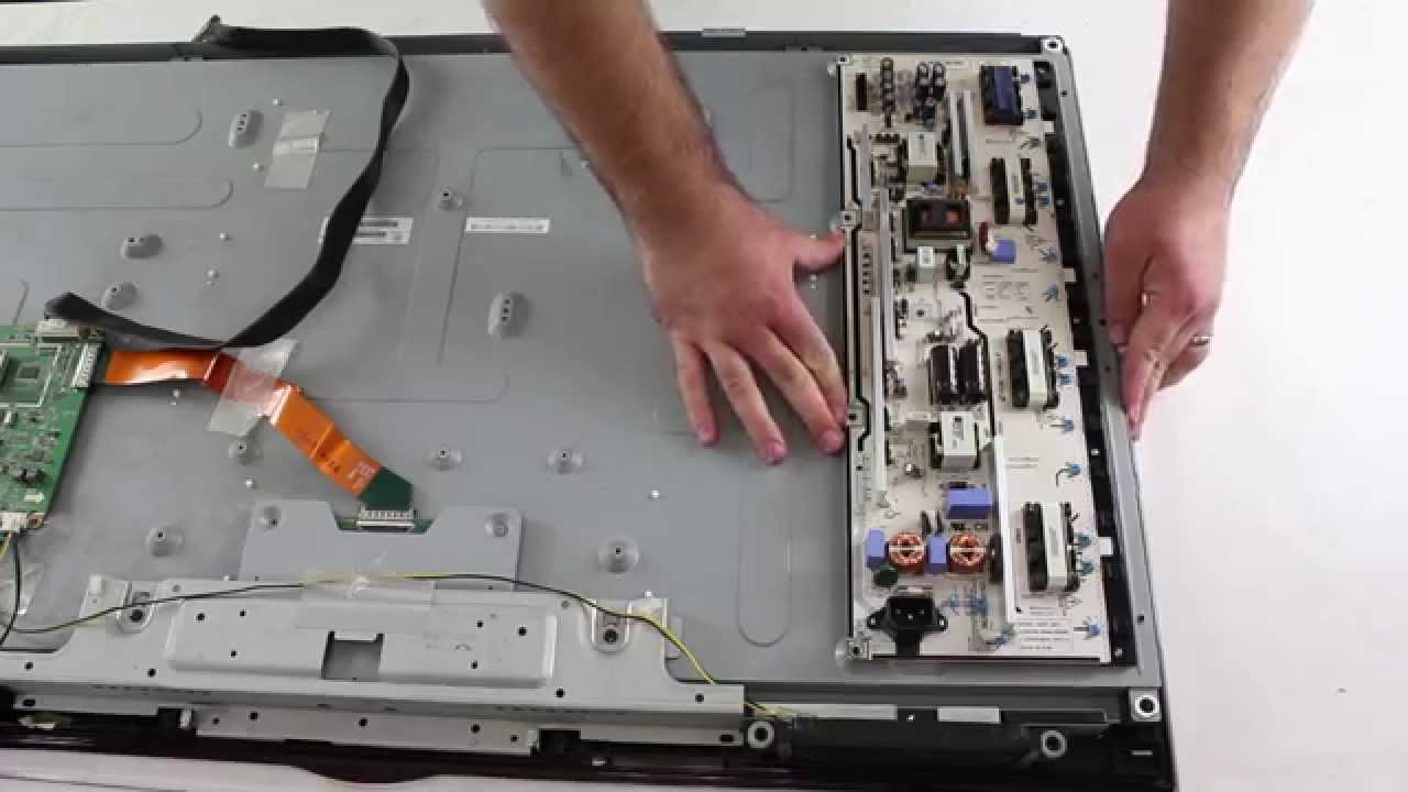 Samsung LCD TV Repair - How to Remove & Install Backlight Inverter