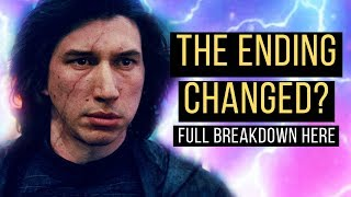 WILD Star Wars News! The Rise of Skywalker Ending Changed?
