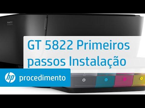 GT 5822 Primeiros passos Instalação