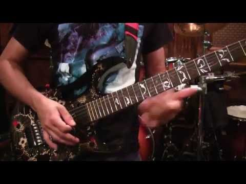 Satch Boogie Cover by Guitars2400 ON NEW IBANEZ JEM77FP2!