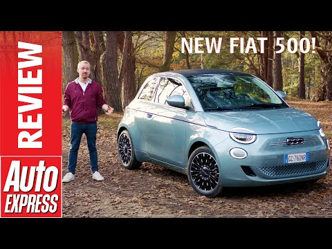 New Fiat 500 review - retro city car goes electric!
