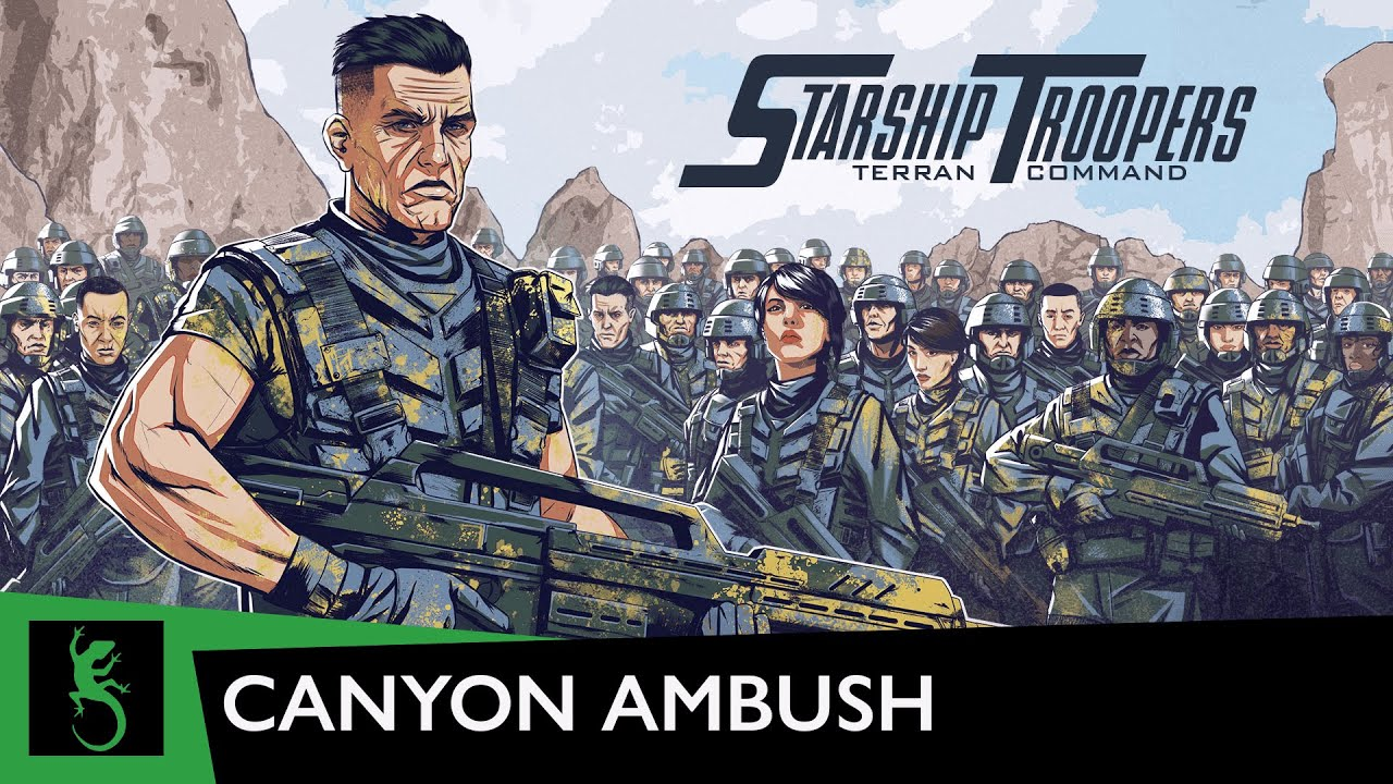 RTS Starship Troopers Terran Command Gets Gameplay Trailer
