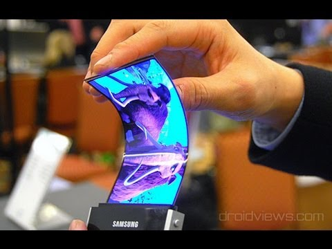 Video Samsung Announces Youm Flexible OLED Displays at CES