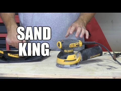DWE6423K 5″  Variable Speed Random Orbit Sander – This is the one!