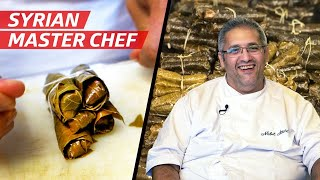 Chef Nabil Attard's French-Syrian Take on Stuffed Grape Leaves — First Person thumbnail