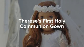 Thereses First Holy Communion Gown