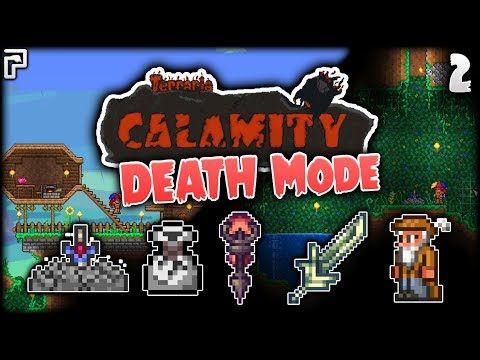 Pod Houses Loot Bags & Shrines | Terraria Calamity Mod Death Mode Let's  Play [Episode 2] - PythonGB