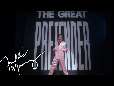 Immagine testo significato The great pretender (official video remastered)