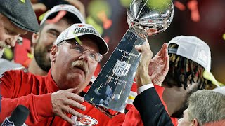"""Andy Reid on Finally Winning Lombardi Trophy, """"You get one, you wanna go get another"""""""