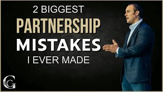 2 Biggest Partnership Mistakes I Ever Made   Business Partnership Agreement Tips