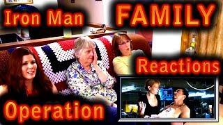 IRON MAN | Family Reactions | OPERATION | 2