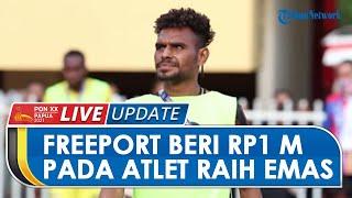 Tepati Janji, PT Freeport Indonesia Beri Rp1 Miliar untuk Atlet Sepakbola Papua yang Sabet Emas