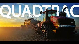 Spring Planting - CASE IH Quadtrac & Disc Drill - Part 8