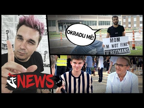PROTESTY V PRAZE, YOUTUBER VYKRADENÝ KANADSKOU SPOLEČNOSTÍ - AtiNEWS