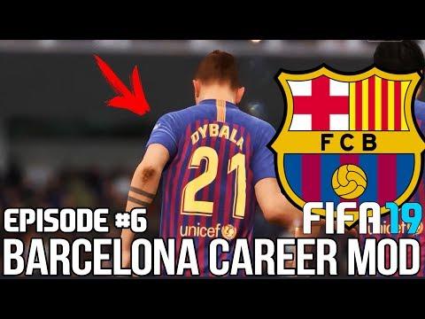 FIFA 19  Карьера тренера за Барселону [#6]   ДИБАЛА - НОВЫЙ ФОРВАРД БАРСЫ? КЕМ ЗАМЕНИТЬ СУАРЕСА?