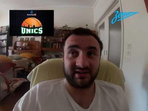 УНИКС - ЗЕНИТ 69-70+++ 1.10.21 19:00 /Прогнозы и ставки на баскетбол/Евролига УЛЕБ