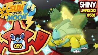 Grotle  - (Pokémon) - WILD SHINY STARTER! SHINY GROTLE! Quest For Shiny Living Dex #388 | USUM Shiny #59