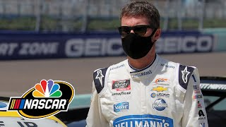 Dale Earnhardt Jr. Calls Himself Rusty After NASCAR Xfinity Race At Miami | Motorsports On NBC