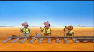 The Koala Brothers. Clip. Sammy Builds a Railway
