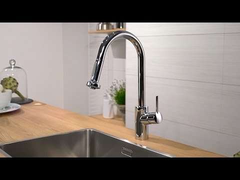 Hansgrohe Talis S2 Variarc kitchen mixer with pull-out spray