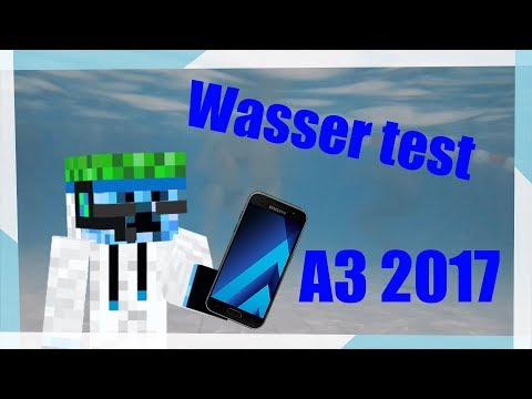 ICH HABE MEIN HANDY UNTERWASSER GEHALTEN 😅 | 🔥Samsung Galaxy A3 2017 Water test🔥