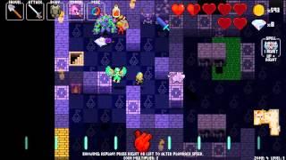 Crypt of the NecroDancer Zone 4 + Dead Ringer Boss + Necrodancer Boss - Video Youtube