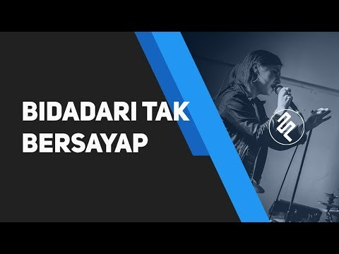 Anji - Bidadari Tak Bersayap Piano Karaoke Synthesia / Chord / Lirik / Tutorial