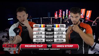 RXF : IANCU STERP vs RICARDO FILIP