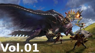Monster Hunter 4 Ultimate Mash -- Volume 1 (Demo & Parts 1-10)