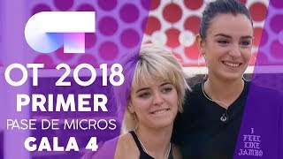 """TOXIC"" - NATALIA Y ALBA RECHE   Primer Pase De Micros Gala 4   OT 2018"