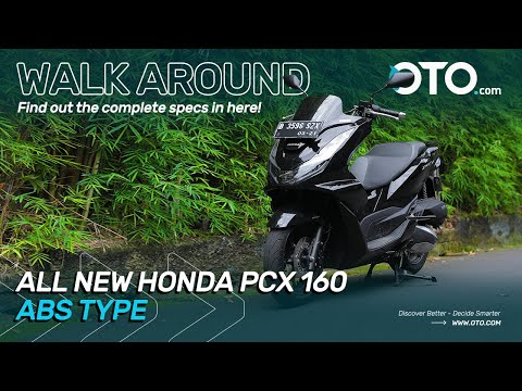 Walk Around | All New Honda PCX 160 ABS Type | Motorcycle Edition