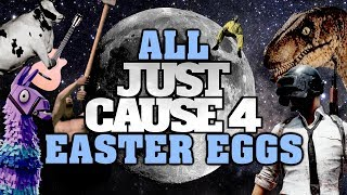 Just Cause 4 All Easter Eggs And Secrets