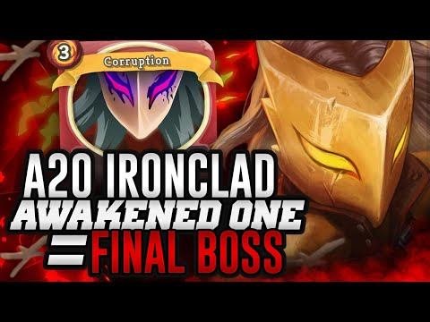 Awakened One = Final Boss | Ascension 20 Ironclad Run | Slay the Spire