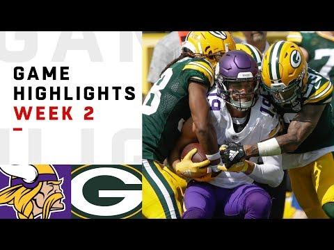 Vikings vs. Packers Week 2 Highlights | NFL 2018