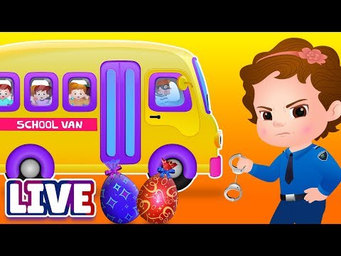 ChuChuTV Police Season 2 Episodes Collection - ChuChu TV Surprise Eggs Toys Live Stream