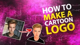 How To Make An EPIC Cartoon Logo/Profile Picture In Photoshop (CC/CS6) 2016
