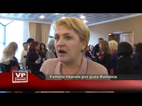 Femeile liberale pot ajuta România