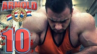 Lorenzo Becker - Road to Arnold Classic / Ep10
